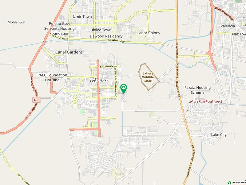 10 Marla Plot For Sale In Nargis Block Bahria Town Lahore