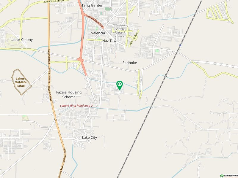 Corner Residential Plot Is Available For Sale