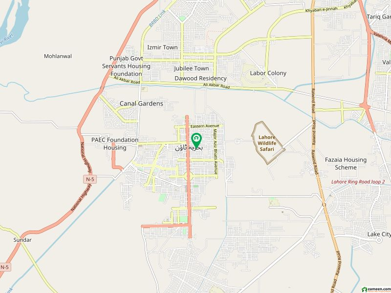 5 Marla Plot File For Sale In Usman Block Bahria Town Lahore