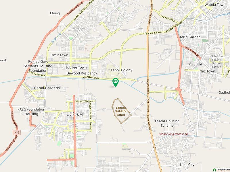 ڈریم گارڈنز ڈیفینس روڈ لاہور میں 1 مرلہ فلیٹ 27.72 لاکھ میں برائے فروخت۔
