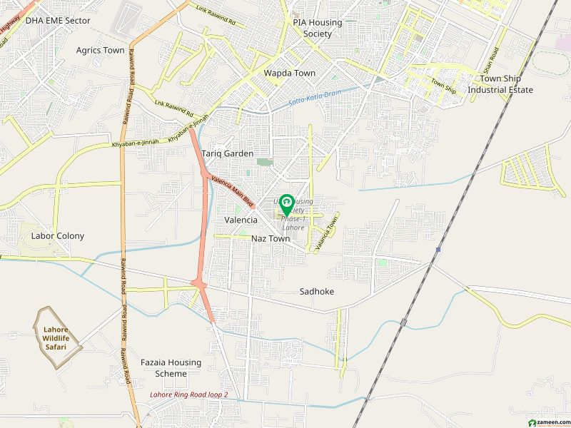 2 Kanal House In UET Housing Society For Sale