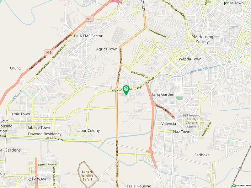 او پی ایف ہاؤسنگ سکیم - بلاک ڈی او پی ایف ہاؤسنگ سکیم لاہور میں 1 کنال رہائشی پلاٹ 1. 5 کروڑ میں برائے فروخت۔