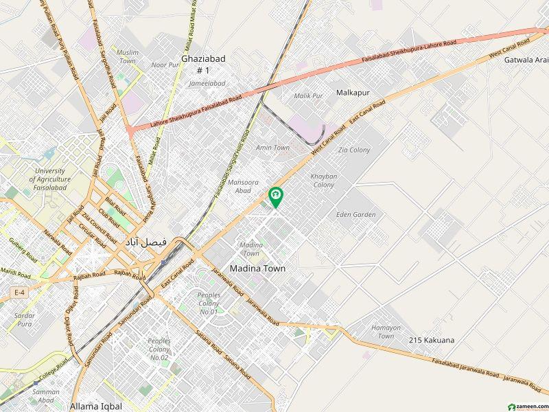 سعید کالونی - نیو گارڈن بلاک سعید کالونی فیصل آباد میں 7 کمروں کا 18 مرلہ مکان 5.5 کروڑ میں برائے فروخت۔
