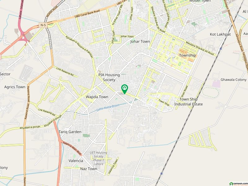 Commercial House For Sale On Main Boulevard Sutlej Avenue Punjab Govt Employees Coop Housing Society