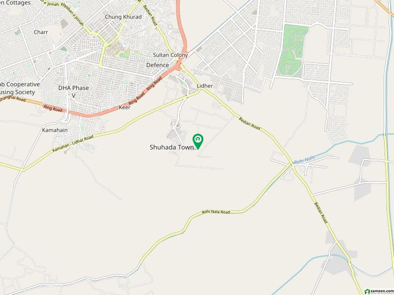 Richmoor Offer 8 Marla Residential Plot Is For Sale Back of Main Road