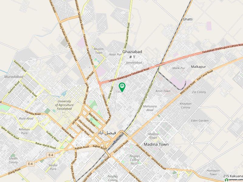 گلستان کالونی نمبر 1 فیصل آباد میں 7 کمروں کا 10 مرلہ مکان 50 ہزار میں کرایہ پر دستیاب ہے۔