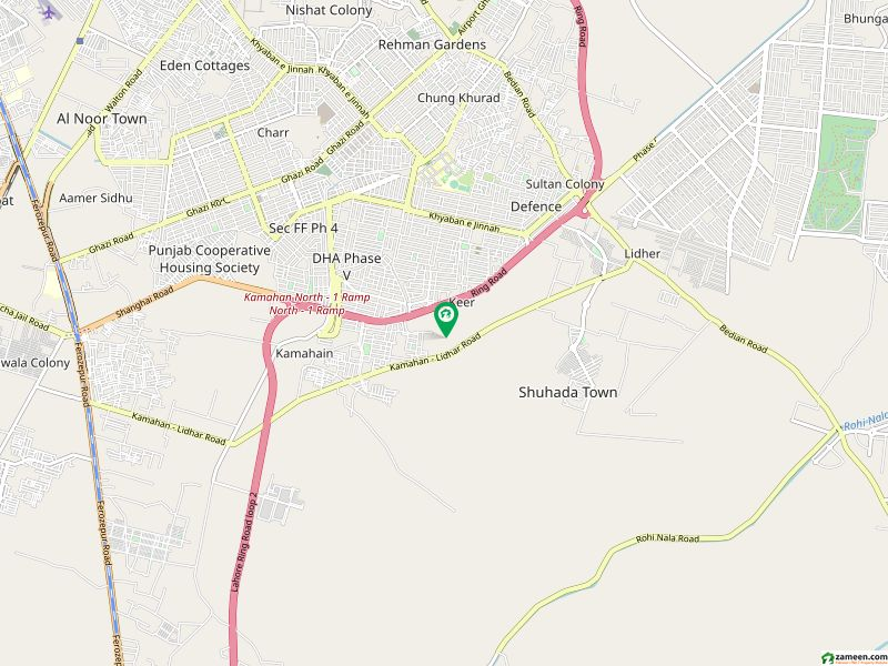 8maral Plot Main 150 Feet Road Hot  Deal Commercial Super Hot Location Plot For Sale In Dha Lahore