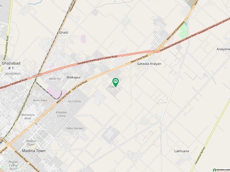 عبداللہ گارڈنز ایسٹ کینال روڈ کینال روڈ فیصل آباد میں 5.5 کنال مکان 47 کروڑ میں برائے فروخت۔