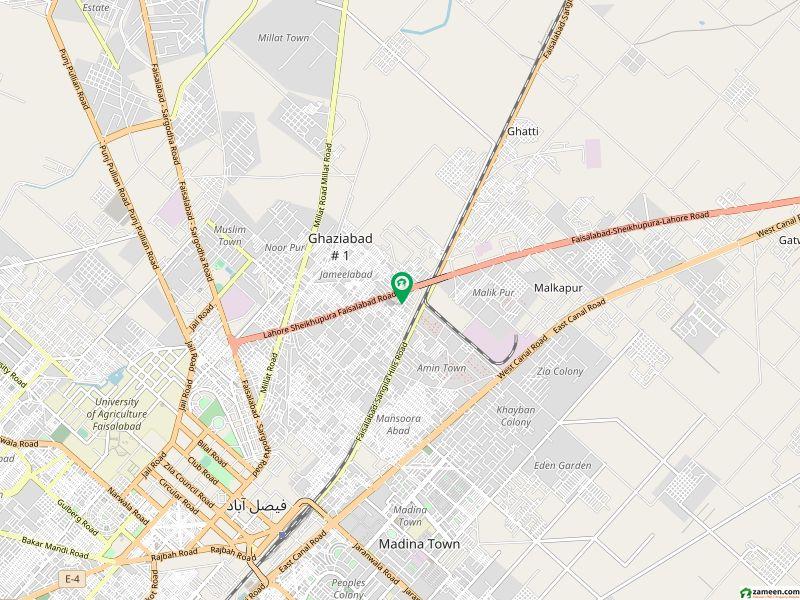 نشاط آباد فیصل آباد میں 3 مرلہ مکان 26 لاکھ میں برائے فروخت۔