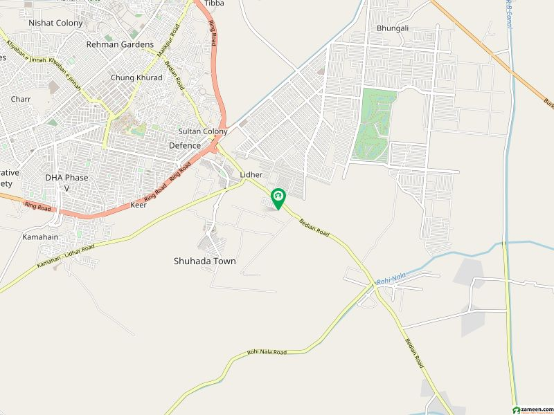12 Marla Commercial Plot Hot Location Block E Phase 9 Town DHA Lahore Cantt