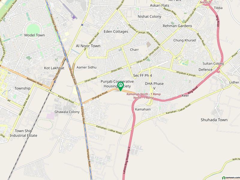 خالد پارک شنگھائی روڈ لاہور میں 5 کمروں کا 4 مرلہ مکان 1.05 کروڑ میں برائے فروخت۔