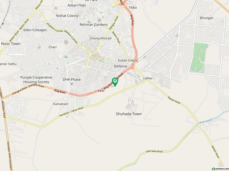 ڈی ایچ اے فیز 5 - بلاک ایم ڈی ایچ اے فیز 5 ڈیفنس (ڈی ایچ اے) لاہور میں 1 کنال رہائشی پلاٹ 1.6 کروڑ میں برائے فروخت۔