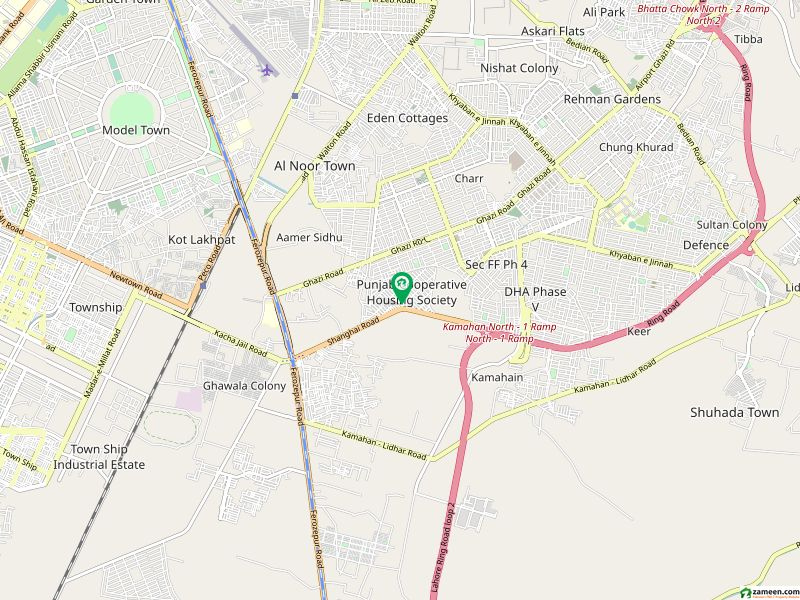 Commercial Building For Sale In Punjab Coop Housing - Block D