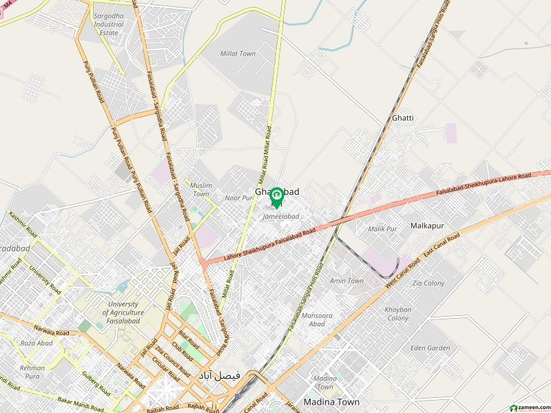 Single Storey House For Sale In Johar Colony