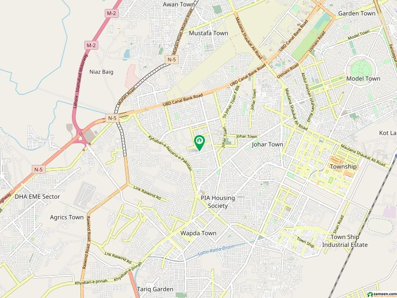5 Marla Single Storey Home 2 Bed Tvl Dd For Sale In Q Block Johar Town Lahore