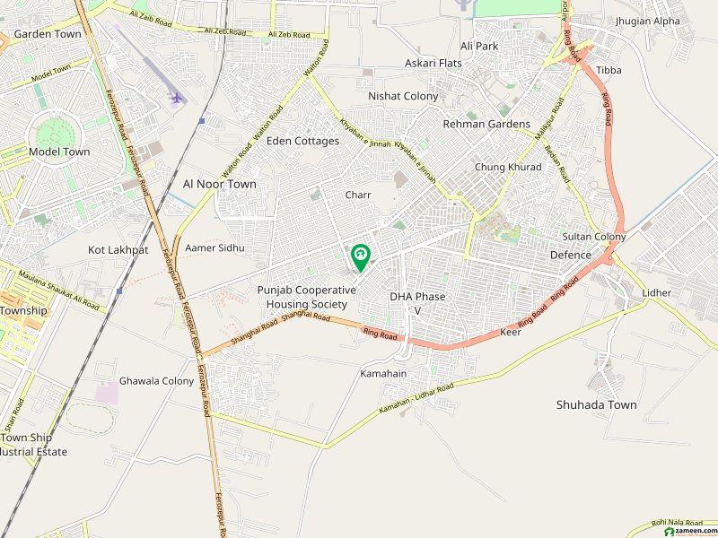 ڈی ایچ اے فیز 4 - ڈبل سی اے بلاک فیز 4 ڈیفنس (ڈی ایچ اے) لاہور میں 8 مرلہ کمرشل پلاٹ 21 کروڑ میں برائے فروخت۔