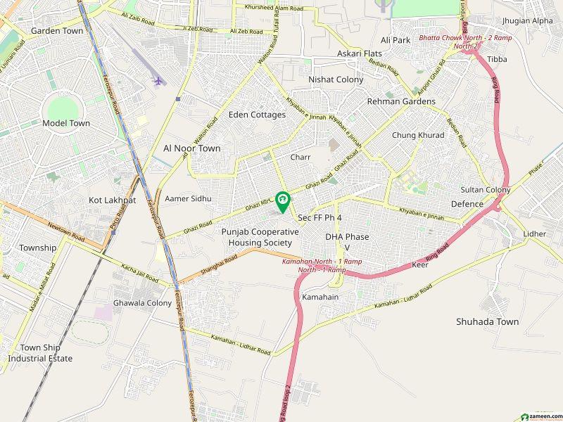 ڈی ایچ اے فیز 4 - بلاک ڈبل سی فیز 4 ڈیفنس (ڈی ایچ اے) لاہور میں 1.05 کنال رہائشی پلاٹ 3.1 کروڑ میں برائے فروخت۔