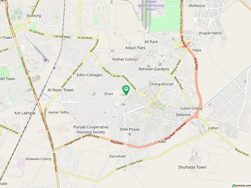 4Marla Commercial Plot In Sector K Phase 1 DHA