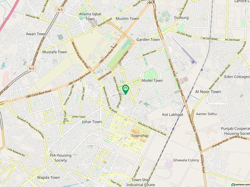 ماڈل ٹاؤن ۔ بلاک این ماڈل ٹاؤن لاہور میں 5 کمروں کا 1.1 کنال مکان 4.5 کروڑ میں برائے فروخت۔