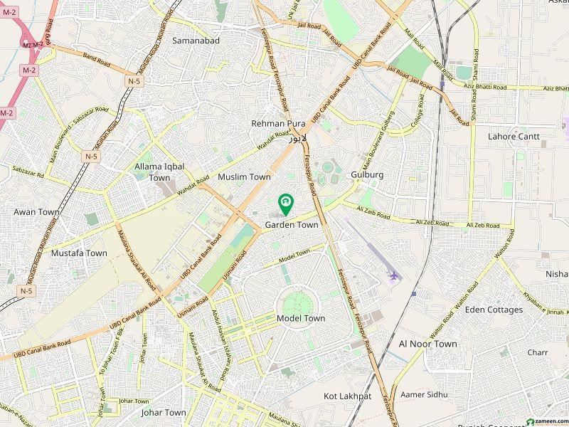 گارڈن ٹاؤن لاہور میں 4 کمروں کا 5 مرلہ مکان 1.4 کروڑ میں برائے فروخت۔