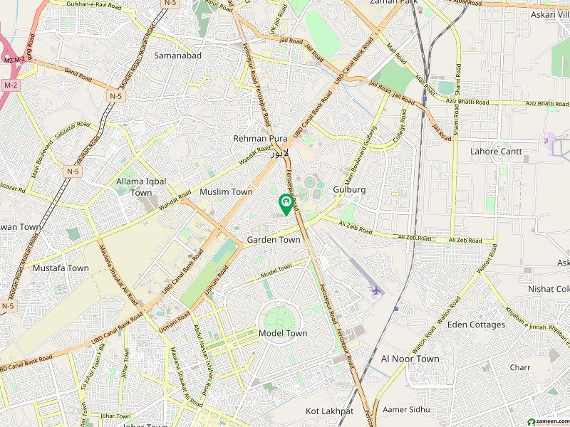 گارڈن ٹاؤن - گارڈن بلاک گارڈن ٹاؤن لاہور میں 1 کنال رہائشی پلاٹ 3 کروڑ میں برائے فروخت۔