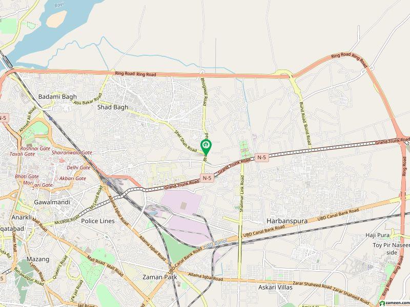 بھوگیوال روڈ لاہور میں 2 کمروں کا 3 مرلہ مکان 45 لاکھ میں برائے فروخت۔