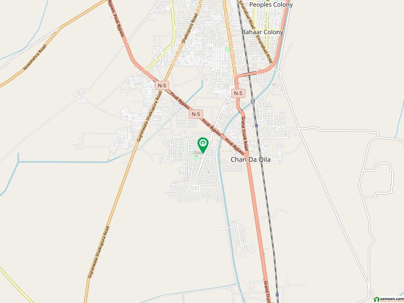 Green Plot File Is Available For Sale In Wapda Town Phase 2 Gujranwala