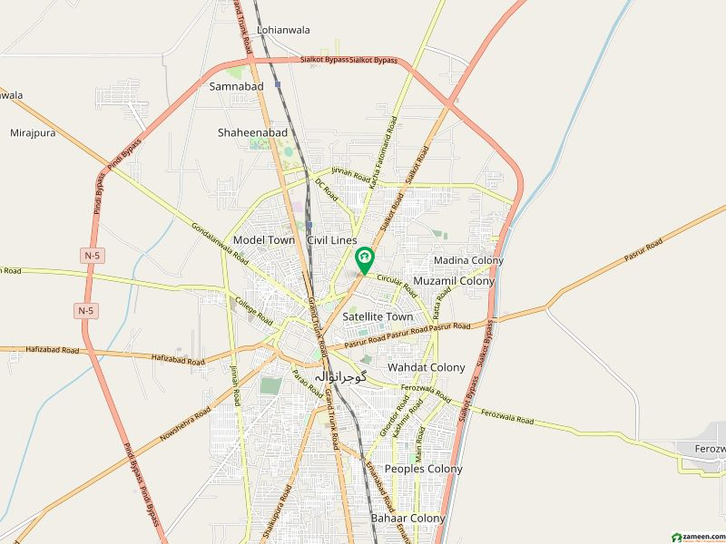 House Available For Sale In Sialkot Road