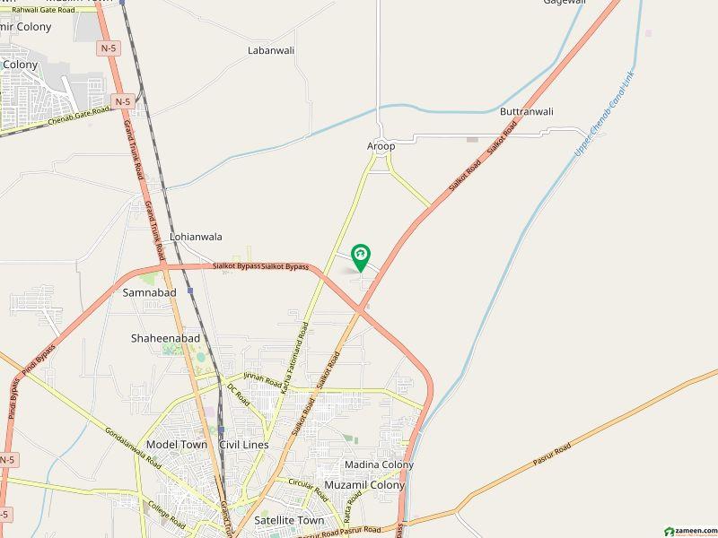4. 5 Marla Single Storey House For Sale At Main Aroop Road Near Professor Colony Gujranawala