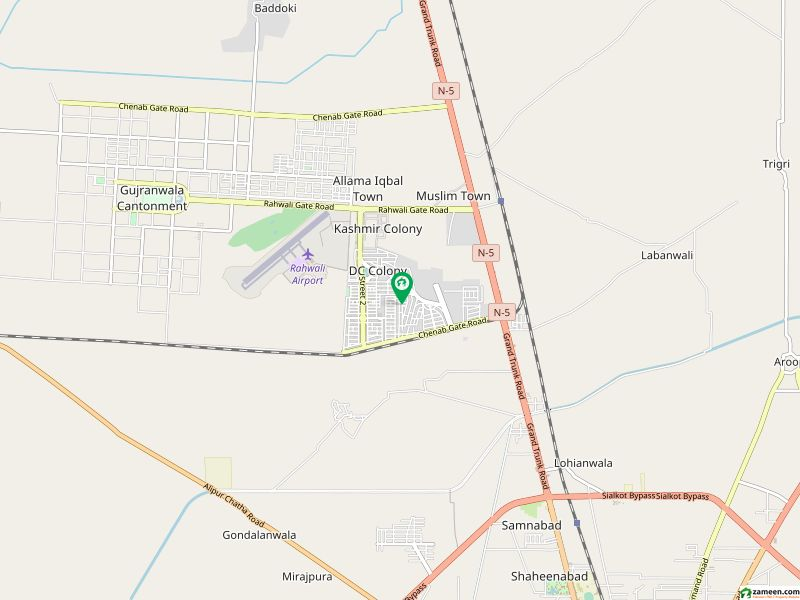 House Is Available For Sale In DC Colony - Chenab Block