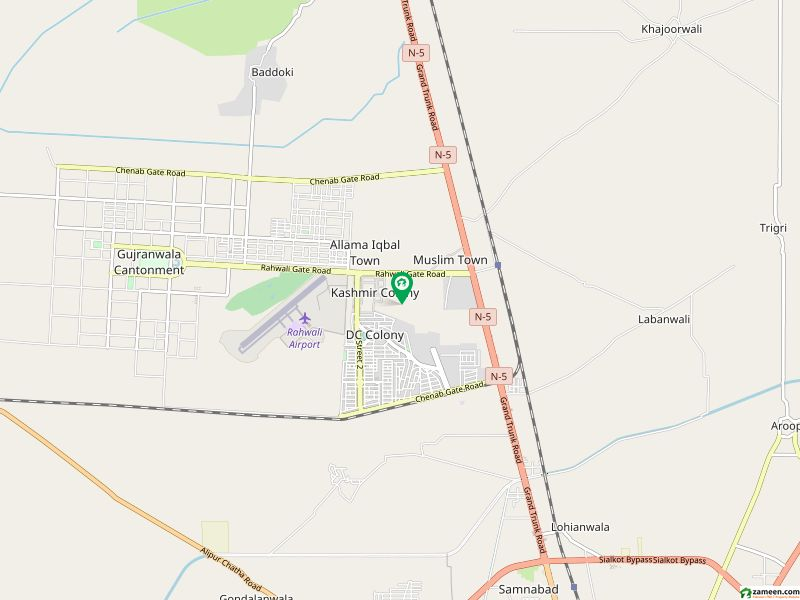5  Marla House For Sale In Dc Colony - Sawan Block - Dc Colony Gujranwala