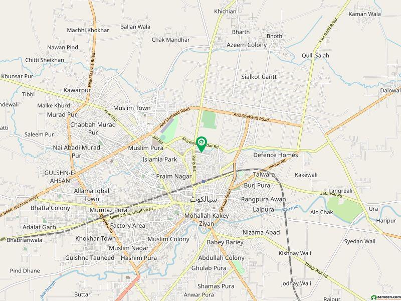 نشاط پارک سیالکوٹ میں 8 کمروں کا 7 مرلہ مکان 2 لاکھ میں کرایہ پر دستیاب ہے۔