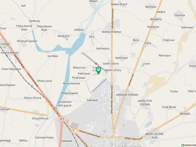 دارالسلام کالونی گجرات میں 5 کمروں کا 5 مرلہ مکان 1.05 کروڑ میں برائے فروخت۔