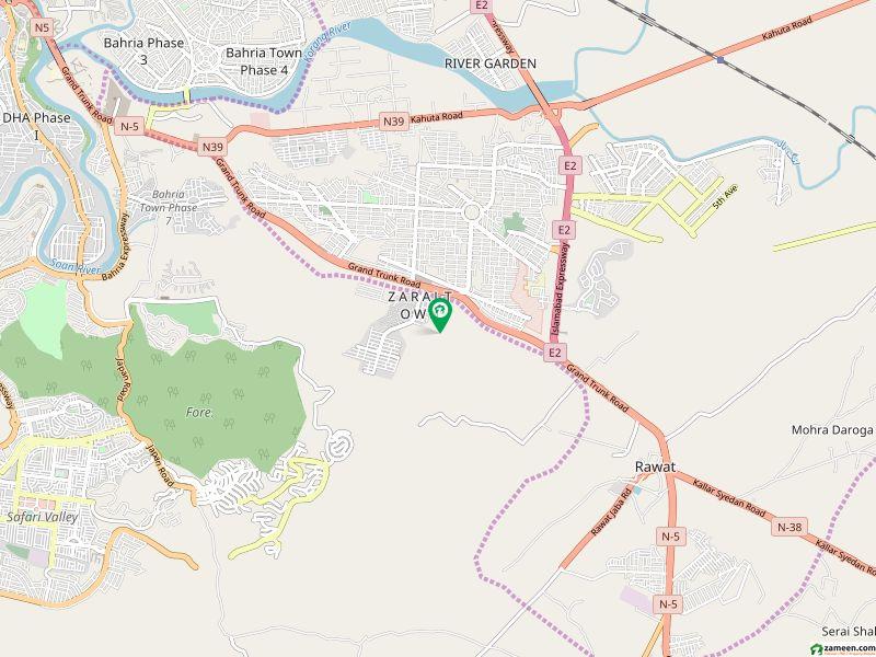 آغوش فیز 2 ۔ بلاک اے آغوش فیز 2 آغوش اسلام آباد میں 1 کنال رہائشی پلاٹ 55 لاکھ میں برائے فروخت۔