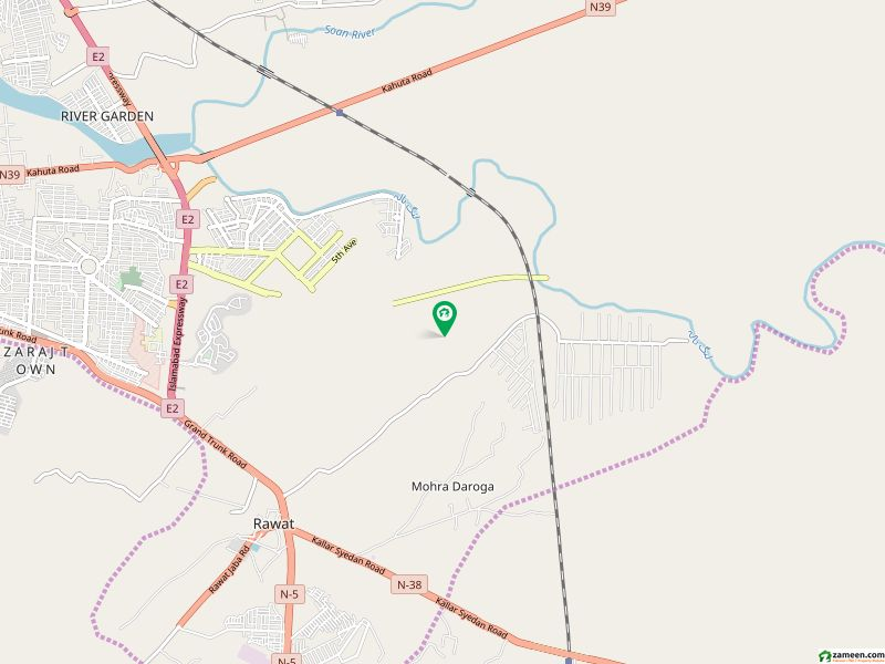 One Kanal Open Allotment Certificate File for Sale - Sector P DHA Phase 2 Extension With 1465 Balance