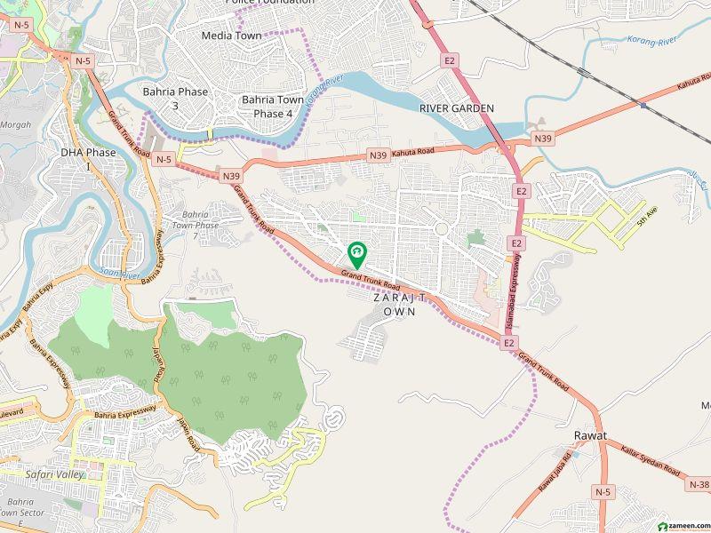 ایل سیلو جی ٹی روڈ اسلام آباد میں 2 کمروں کا 4 مرلہ فلیٹ 52 لاکھ میں برائے فروخت۔