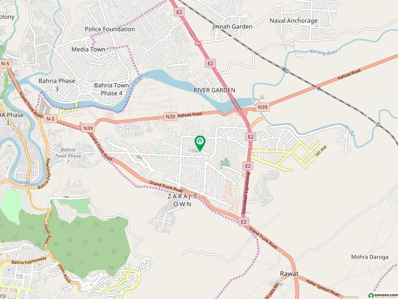 1 Kanal Plot Out Standing Location Available For Sale Dha Phase 2 Islamabad