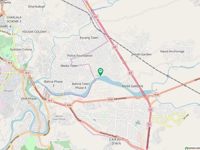 آغوش فیز 1 آغوش اسلام آباد میں 1 کنال رہائشی پلاٹ 95 لاکھ میں برائے فروخت۔