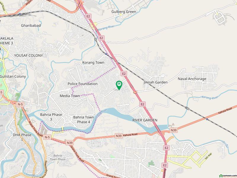 آغوش اسلام آباد میں 15 مرلہ رہائشی پلاٹ 50 لاکھ میں برائے فروخت۔