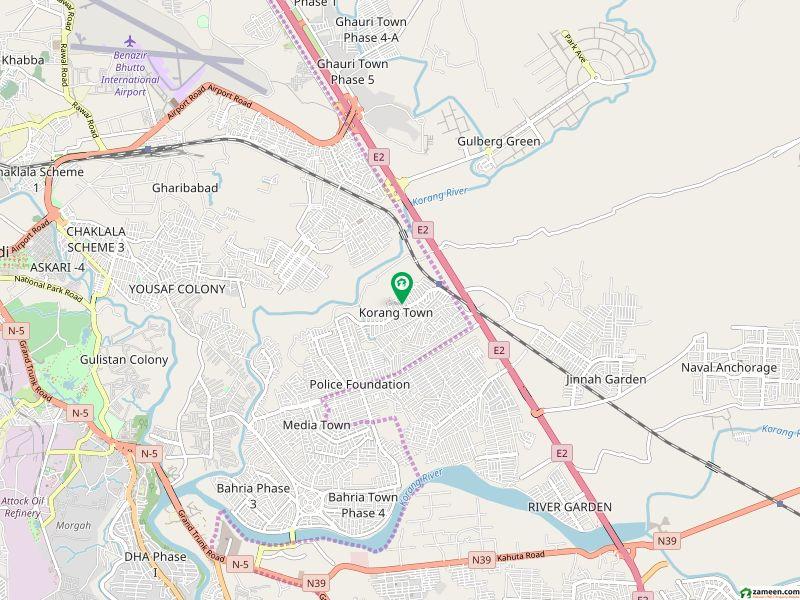 کورنگ ٹاؤن اسلام آباد میں 1 کمرے کا 1 مرلہ فلیٹ 20 لاکھ میں برائے فروخت۔