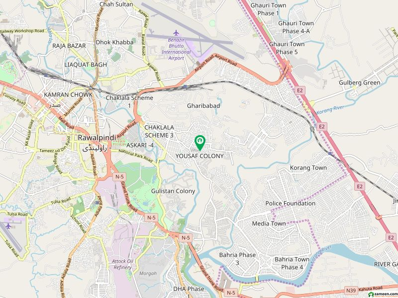 7 Marla Plot Available For Sale In Ayub Colony