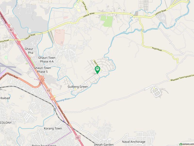 گلبرگ گرینز گلبرگ اسلام آباد میں 10 کنال مکان 10.5 کروڑ میں برائے فروخت۔