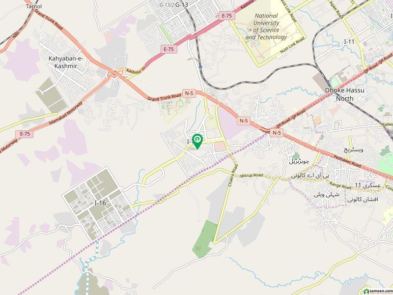 آئی ۔ 14 اسلام آباد میں 4 مرلہ رہائشی پلاٹ 65 لاکھ میں برائے فروخت۔