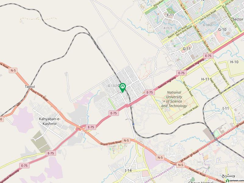 لائف سٹائل ریزیڈینسی جی ۔ 13/1 جی ۔ 13 اسلام آباد میں 6 مرلہ فلیٹ 54 لاکھ میں برائے فروخت۔