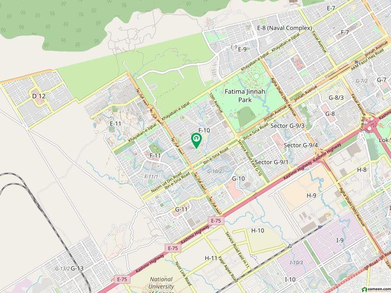 ایف ۔ 10/1 ایف ۔ 10 اسلام آباد میں 10 کمروں کا 2.04 کنال مکان 12 کروڑ میں برائے فروخت۔