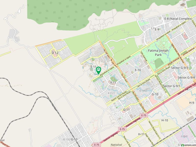 40x40 Commercial Plot Is Available For Sale In E-11/2 Islamabad