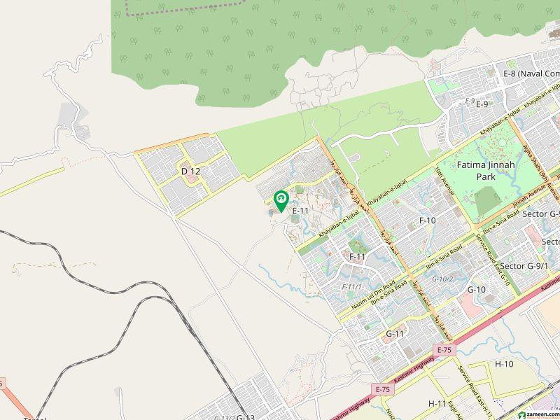 ای ۔ 11/1 ای ۔ 11 اسلام آباد میں 7 مرلہ رہائشی پلاٹ 1.85 کروڑ میں برائے فروخت۔