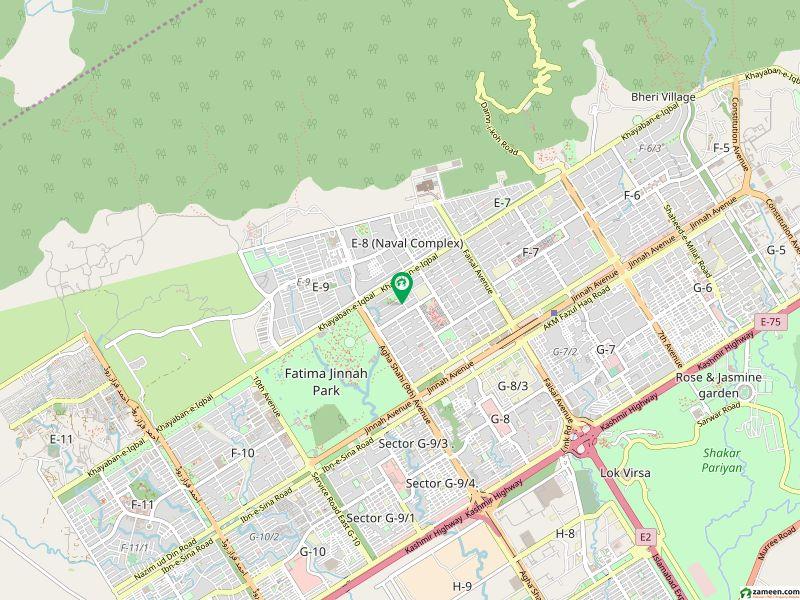 ایف ۔ 8/2 ایف ۔ 8 اسلام آباد میں 4 کنال رہائشی پلاٹ 25 کروڑ میں برائے فروخت۔