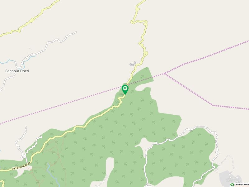 پیر سوہاوا روڈ پیر سوہاوا اسلام آباد میں 80 کنال زرعی زمین 14 کروڑ میں برائے فروخت۔