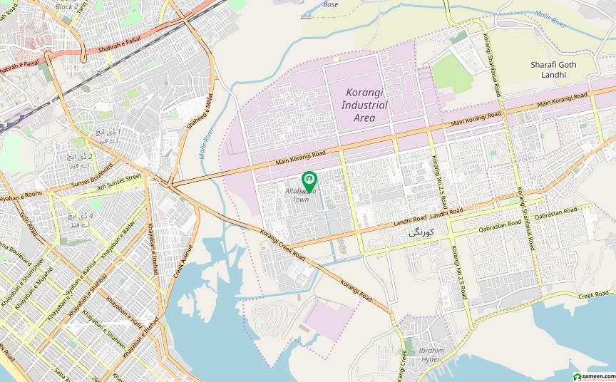 کے ڈی اے ایمپلائز سوسائٹی - کورنگی کورنگی کراچی میں 3 کمروں کا 5 مرلہ مکان 70 لاکھ میں برائے فروخت۔